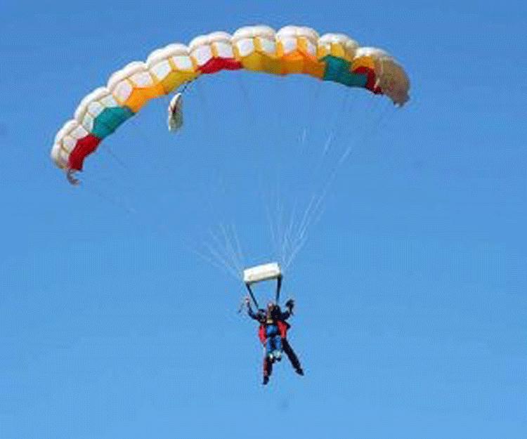 Fallschirmsprung - Tadäus Teddy